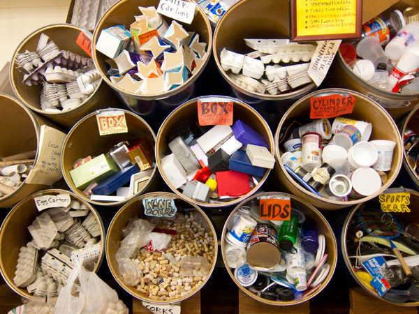Maker supply chain east bay depot for creative reuse for Creative art from waste